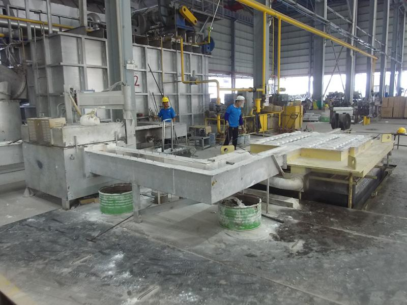 Melting and Casting Line