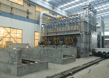 Homogenizing System for Aluminum Based Alloy Plant